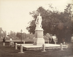 Calcutta. Sir W Peel's Monument, Eden Gardens